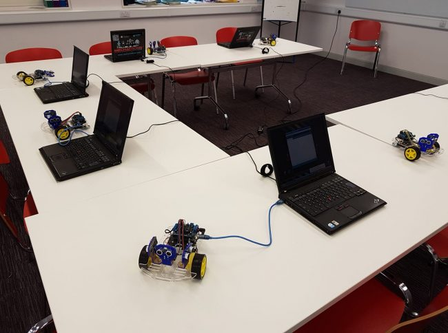 IT equipment and robots