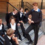 Exchange students mix with local Irish students