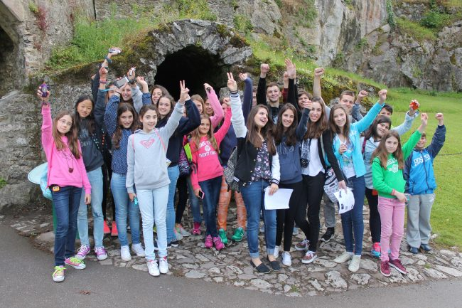 students on excursion in dublin